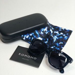 KOMONO Allen Indigo Demi Sunglasses (NEW)